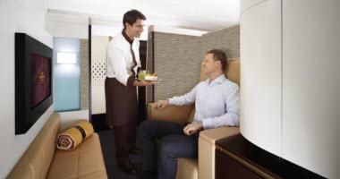 Etihad Airways First Apartment.