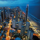 Surfers Paradise skyline, Gold Coast