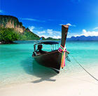 Experience white sand beaches with our range of cheap flights to Thailand.
