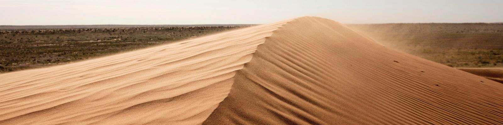 Simpson Desert. Image: Tourism and Events Queensland.