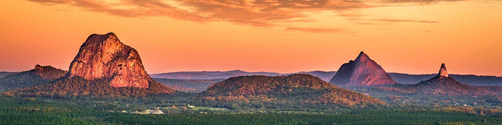 Glasshouse Mountains, Sunshine Coast Hinterland
