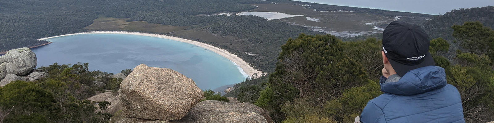 mt amos view over wineglass bay