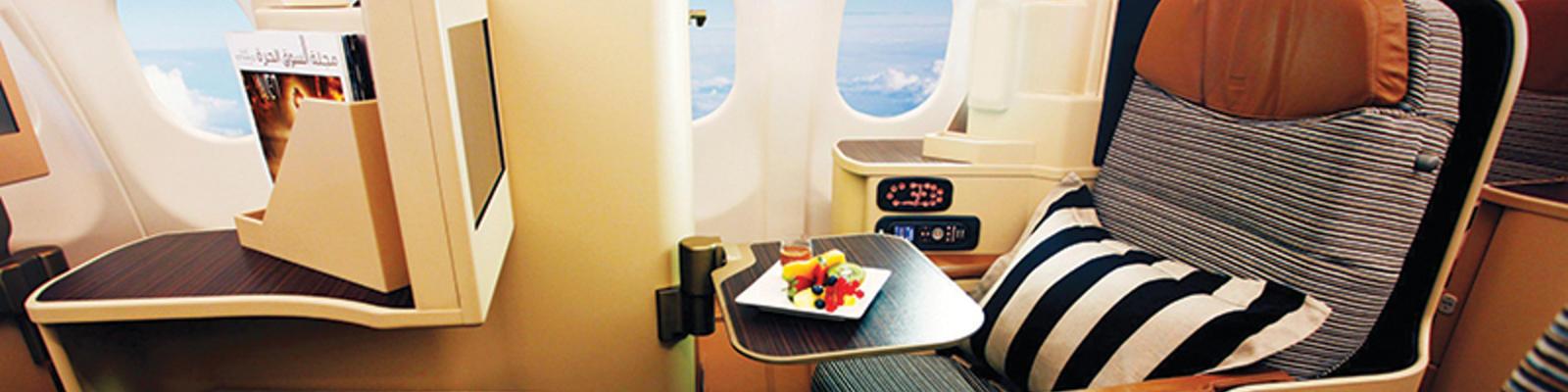 Etihad's Pearl Business Class seat