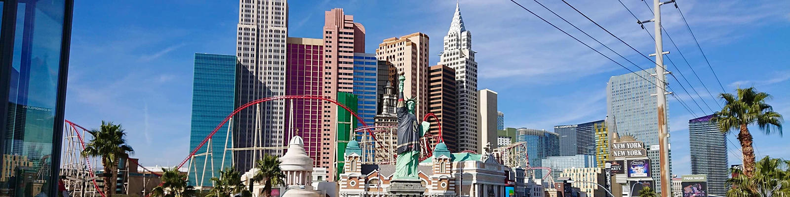 A view of Las Vegas, NV by day