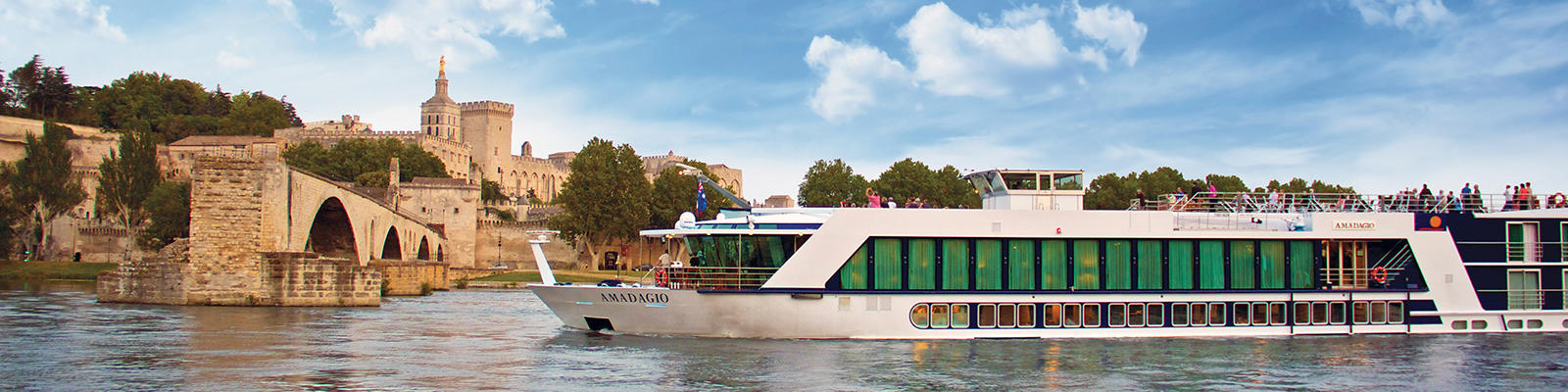 APT river cruise in Avignon France