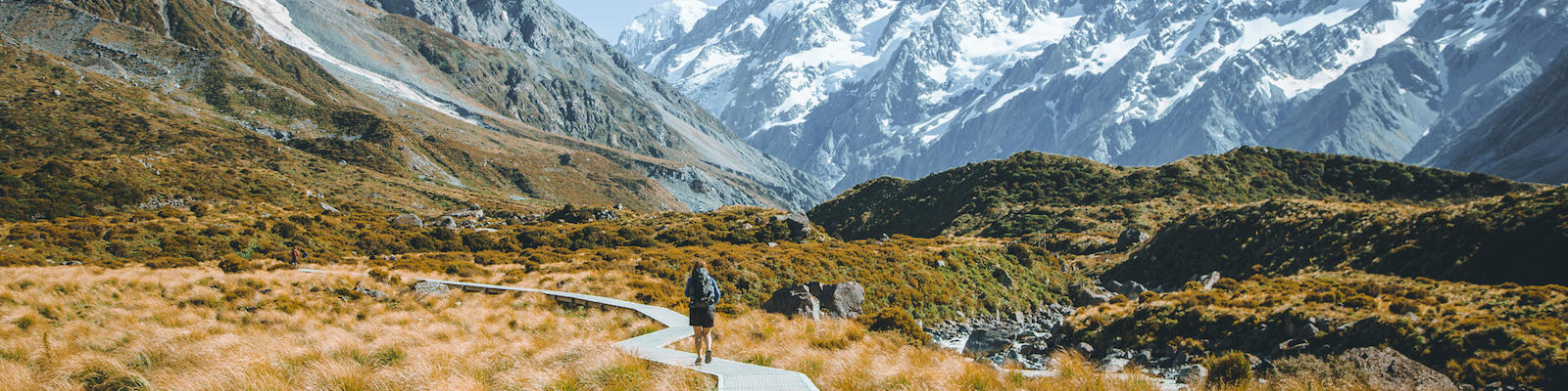 hiking in new zealand south island