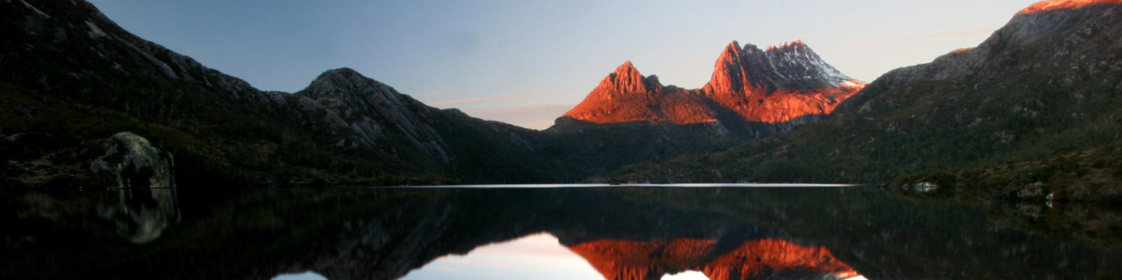 cradle mountain sunrise