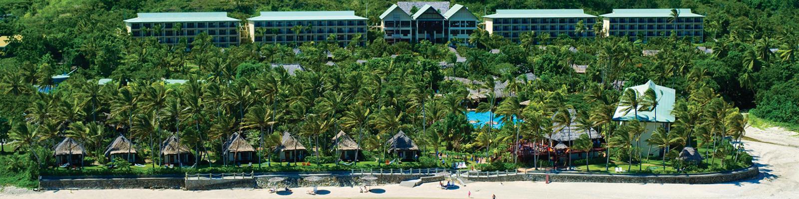 Exterior of Outrigger Fiji Beach Resort