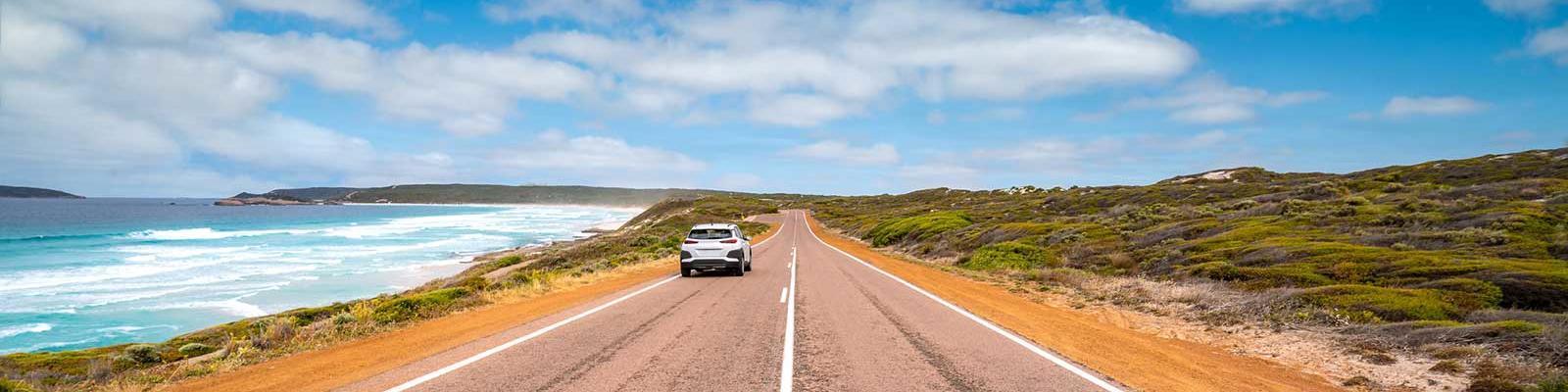 road trip australia coastline