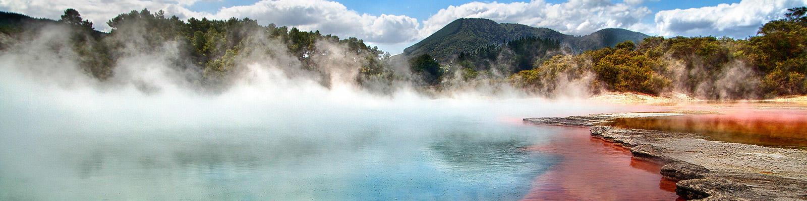 Rotorua thermal springs new zealand