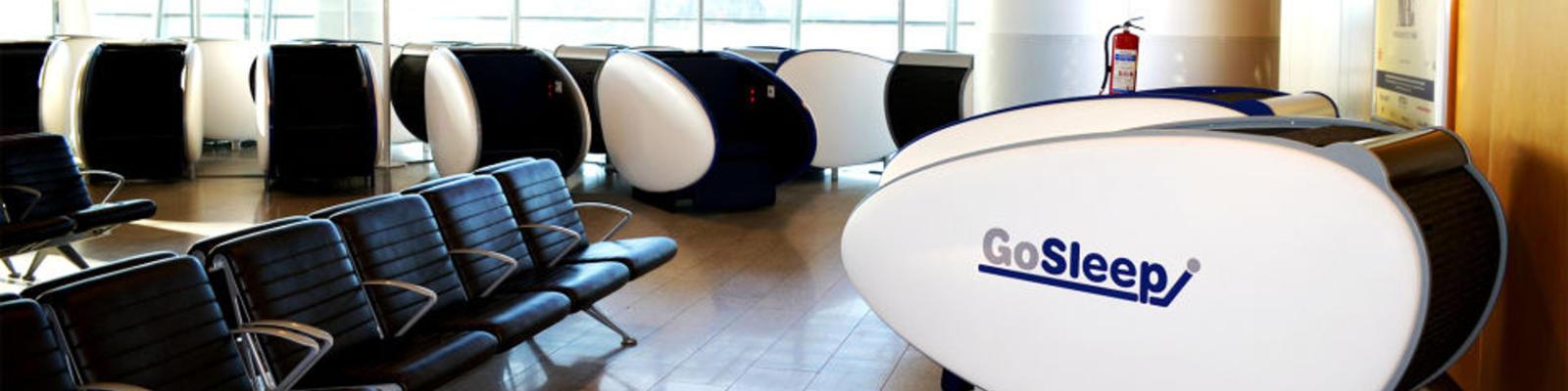 Sleep pod at Helsinki Airport