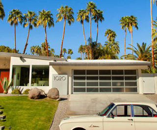 mid-century modern house palm springs