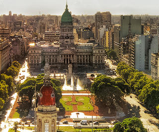 Buenos Aires inner city