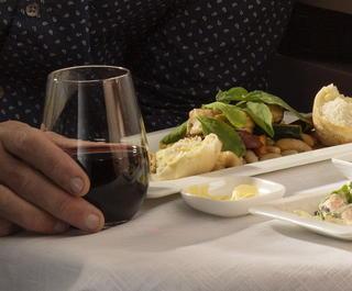 air nz business class dining