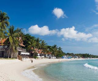 A beach in Koh Samui.