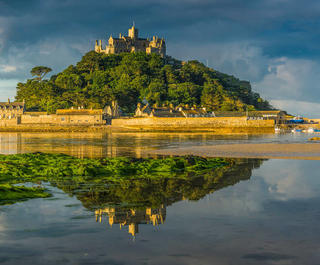 St Michael's Mount, Cornwall, England.