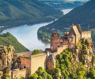 Aggstein castle europe