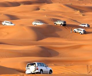 Desert dune bashing. Photo: Getty Images.