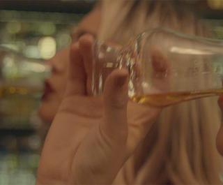 Sampling whisky at Scotch The Balmoral Hotel