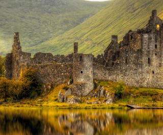 Kilchurn Castle.