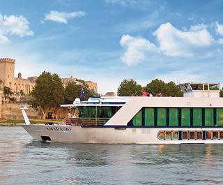 APT river cruise in Avignon France