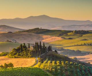 italian hills