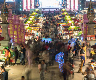 night market in bangkok