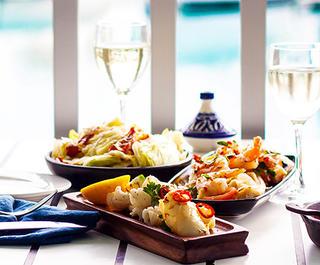 dining on hamilton island