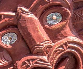 A Maori carving.