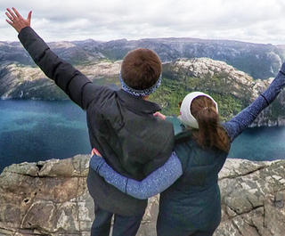 Norway's pulpit rock is one of the most stunning natural attractions