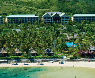 Exterior of Outrigger Fiji Beach Resort