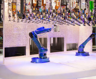 The Bionic Bar on board selected Royal Caribbean cruise ships.
