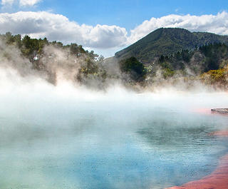 Rotorua thermal springs new zealand