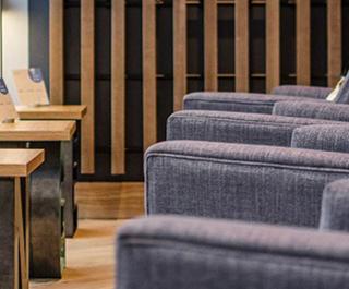 new Virgin Australia international lounge at Brisbane Airport