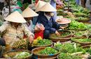 Vegetables For Sale, Myanmar