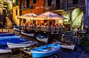 A restaurant in Riomaggiore