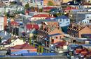 Colourful Houses, Hobart