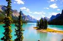Spirit Island, Maligne Lake, Jasper National Park