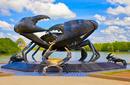 The Mud Crab Statue