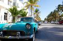Vintage Car, Ocean Drive