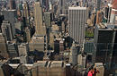 View from the Rockefeller Centre