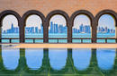 The Doha skyline from the Museum of Islamic Art