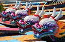 Dragon Boats, Love River, Kaohsiung