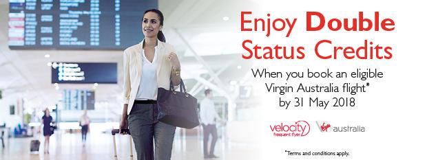 Enjoy Double Status Credits! | Flight Centre