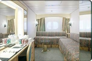Ocean View Stateroom (F1)