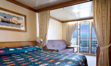 Deluxe Oceanview Stateroom With Verandah (5A)