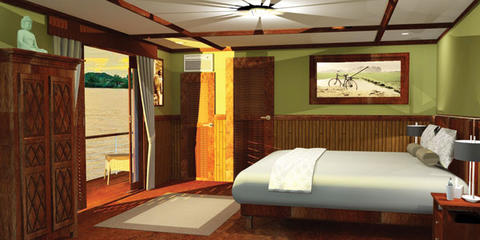 Standard Cabin - Tonle Deck (A)