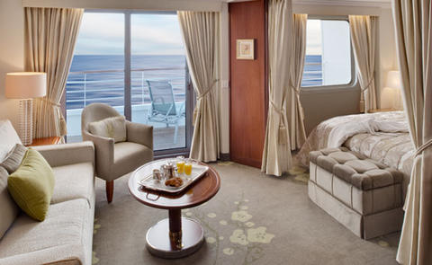 Penthouse Suite with Verandah and Third Berth (PS)