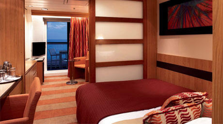 Family Ocean View Stateroom with Veranda (FV)