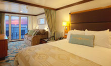 Concierge Family Oceanview Stateroom with Verandah  (OOV)